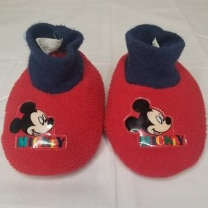 Disney Mickey Mouse Clubhouse Toddler Slippers 7-8